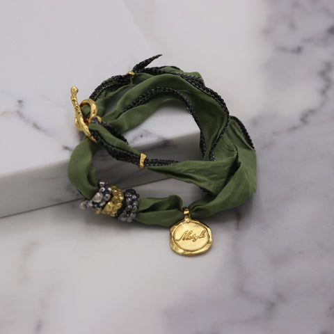 Silk Bracelet | MJMIX3038 - Artizen Jewelry