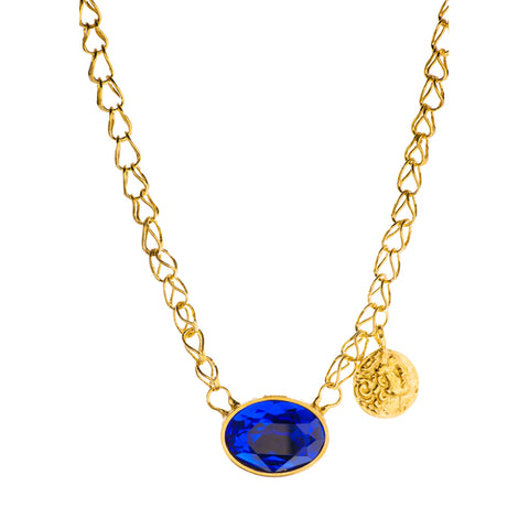 Gold Plated Necklace | MG2561 - Artizen Jewelry