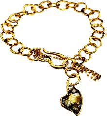 Gold Plated Bracelet | MG3146 - Artizen Jewelry