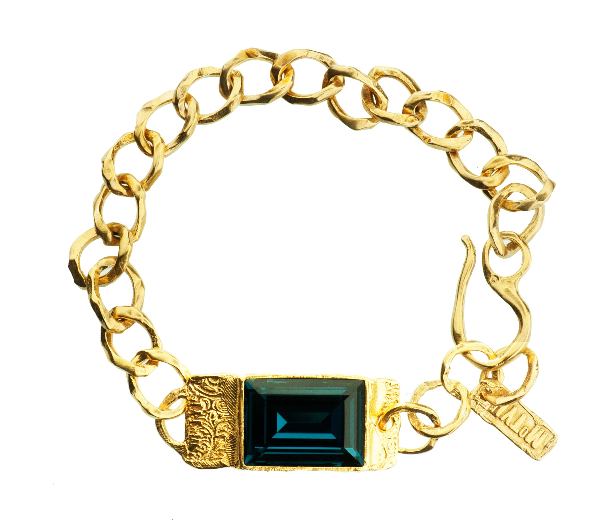 gold plated products swarovski crystal img copy indian crystals sapphire in bracelet with of