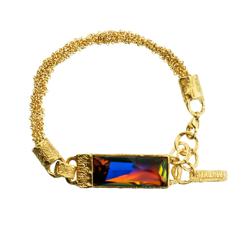 Gold Plated Bracelet | MG3248 - Artizen Jewelry