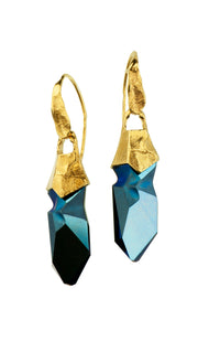 Gold Plated Earrings | MG4242 - Artizen Jewelry