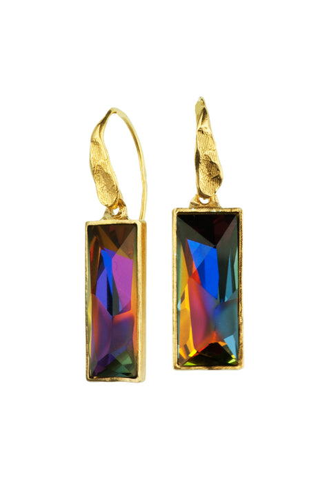 Gold Plated Earrings | MG4248 - Artizen Jewelry