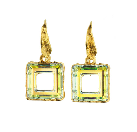Gold Plated Earrings | MG4259 - Artizen Jewelry
