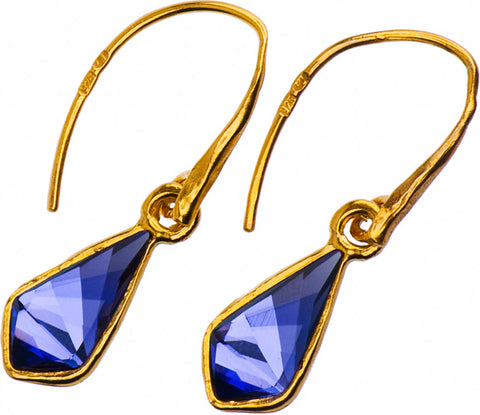 Gold Plated Earrings | MG4543 - Artizen Jewelry