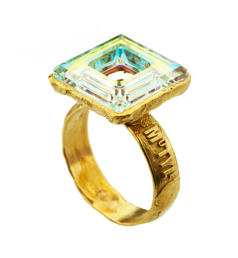 Gold Plated Ring | MG5259 - Artizen Jewelry