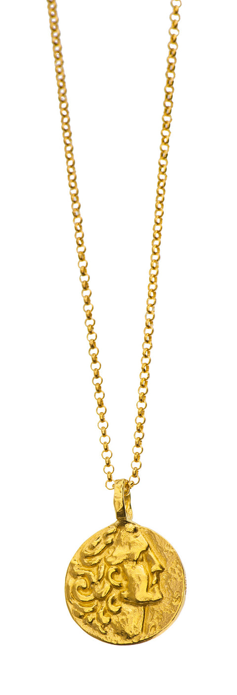 Gold Plated Necklace | MGA2550 - Artizen Jewelry