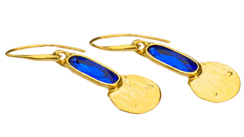 Gold Plated Earrings | MGB4558 - Artizen Jewelry