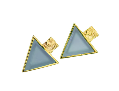 Golden Earrings | MGG4002 - Artizen Jewelry
