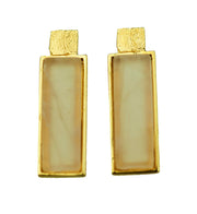 Golden Earrings | MGG4004 - Artizen Jewelry