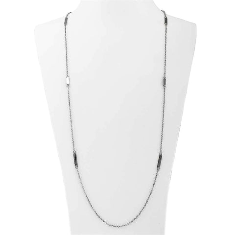 Layering Station Silver Necklace - Artizen Jewelry