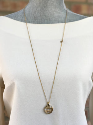 Gold Plated Necklace | MGA2545 - Artizen Jewelry