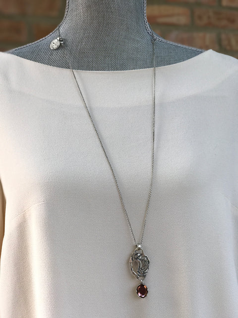 Silver Necklace | MS2520 - Artizen Jewelry