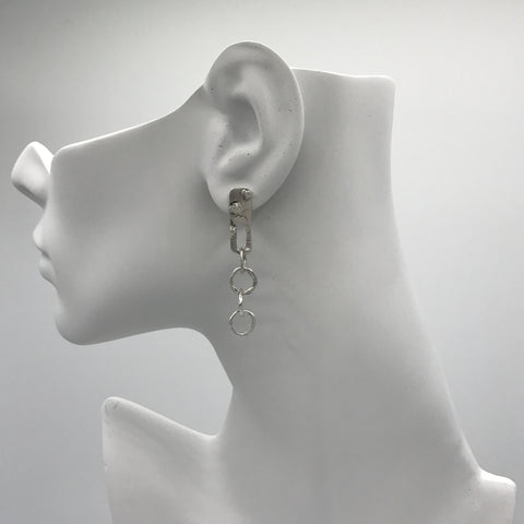 Silver Earrings | M4285 - Artizen Jewelry