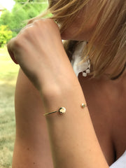 Double Disc Bracelet - Artizen Jewelry