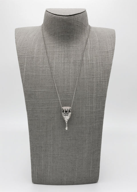 Silver Necklace | M2425 - Artizen Jewelry