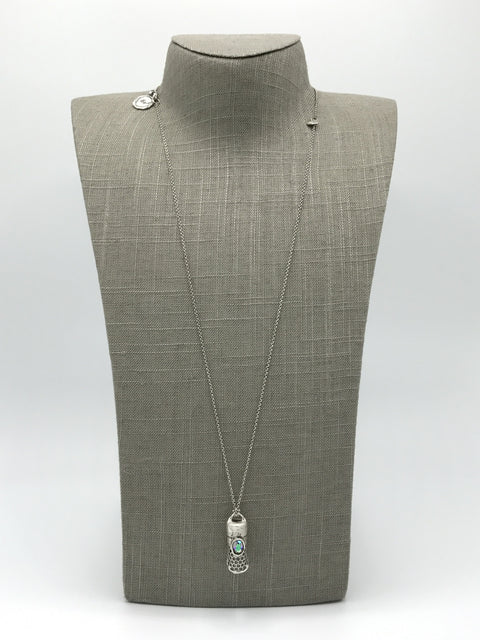 Silver Necklace | M2380 - Artizen Jewelry