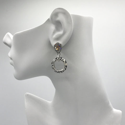 Silver Earrings | M4129 - Artizen Jewelry