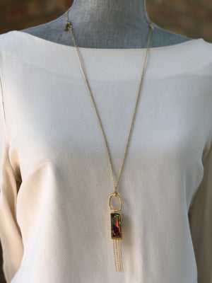 Gold Plated Necklace | MG2248 - Artizen Jewelry