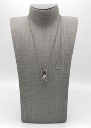 Silver Necklace | M2351 - Artizen Jewelry