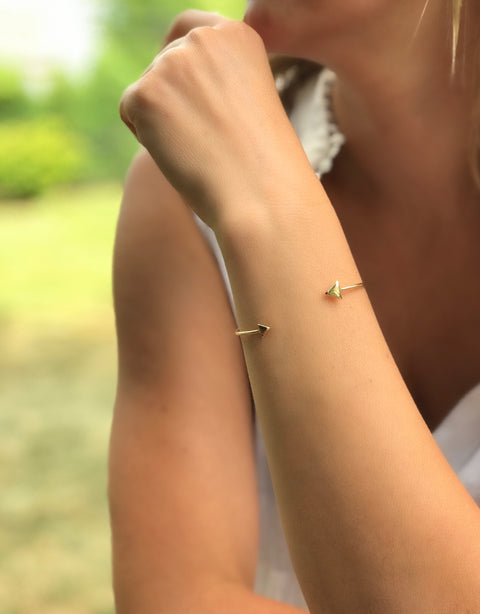 Double Arrow Bracelet - Artizen Jewelry