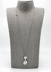 Silver Necklace | M2155 - Artizen Jewelry