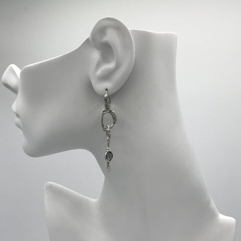 Silver Earrings | M4269 - Artizen Jewelry