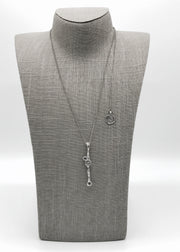 Silver Necklace | M2357 - Artizen Jewelry