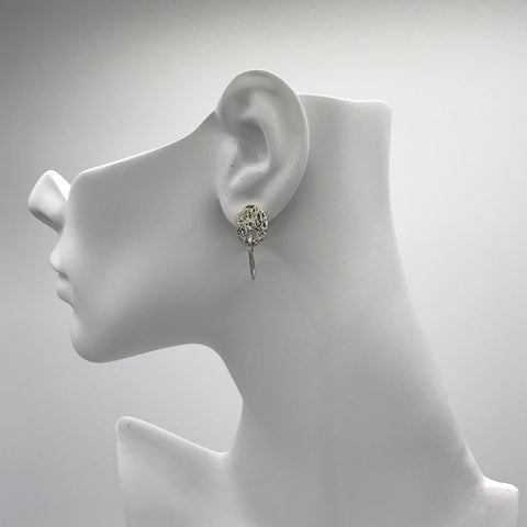 Silver Earrings | M4384 - Artizen Jewelry