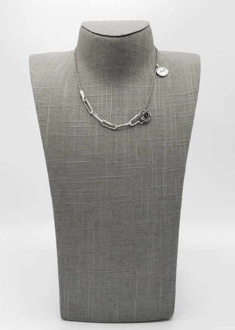 Silver Necklace | M2339 - Artizen Jewelry