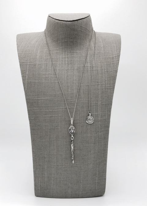 Silver Necklace | M2349 - Artizen Jewelry