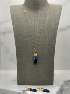 Gold Plated Necklace | MG2242 - Artizen Jewelry