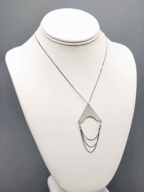 Multistrand Silver Necklace - Artizen Jewelry