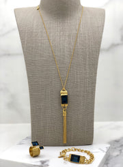 Gold Plated Necklace | MG2247 - Artizen Jewelry