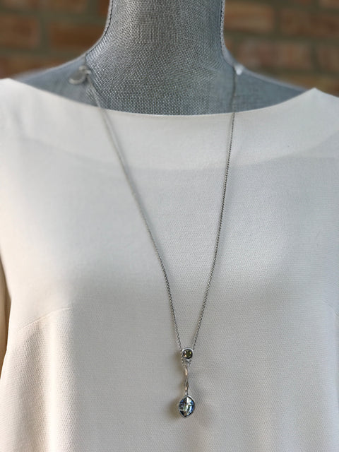 Silver Necklace | M2346 - Artizen Jewelry