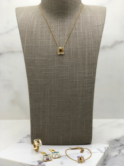 Gold Plated Necklace | MG2259 - Artizen Jewelry