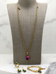 Gold Plated Necklace | MG2146 - Artizen Jewelry