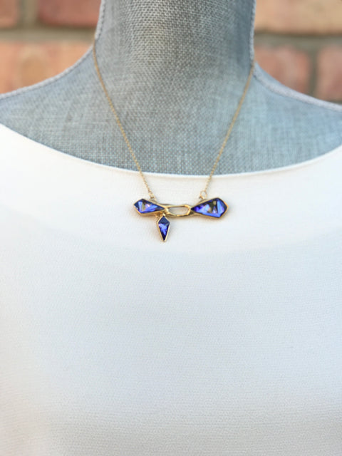 Gold Plated Necklace | MG2543 - Artizen Jewelry