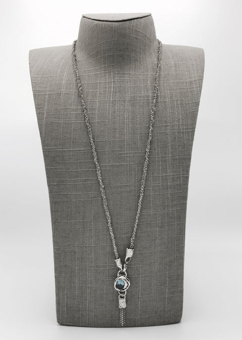 Silver Necklace | M2259 - Artizen Jewelry