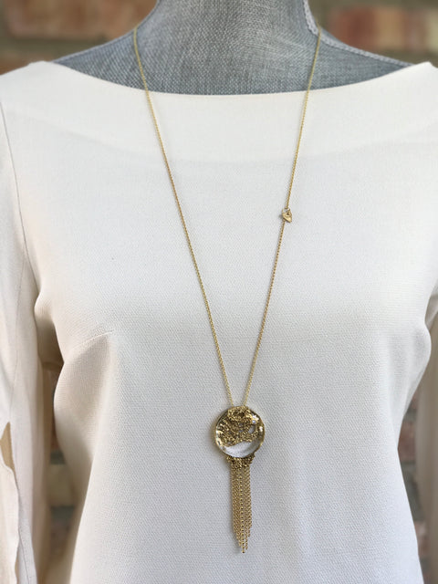 Gold Plated Necklace | MG2536 - Artizen Jewelry