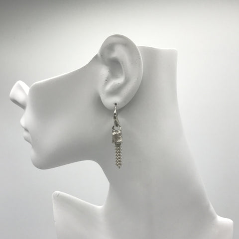 Silver Earrings | M4259 - Artizen Jewelry