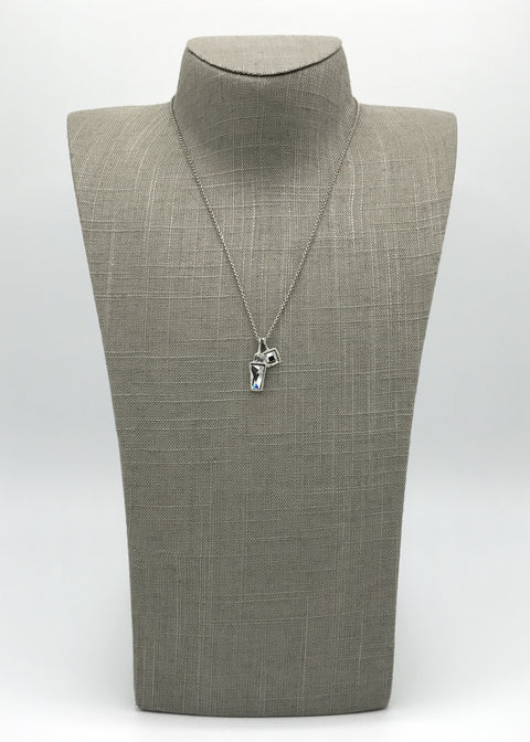 Silver Necklace | M2496 - Artizen Jewelry