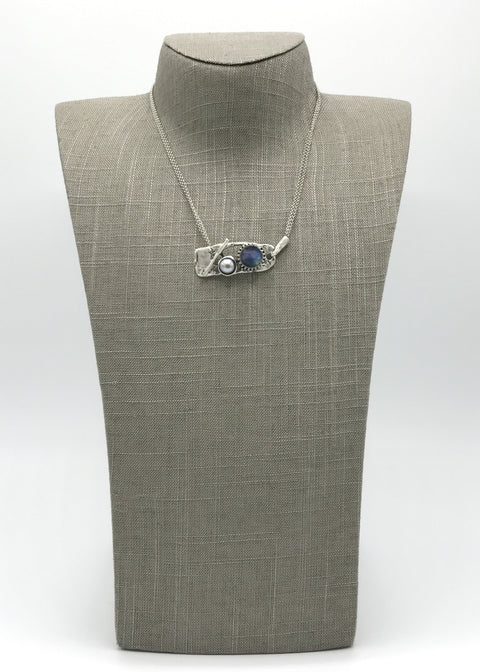 Silver Necklace | M2441 - Artizen Jewelry