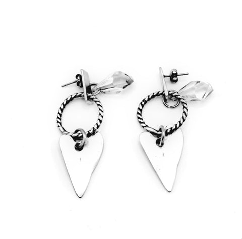 Silver Earrings | M4019 - Artizen Jewelry