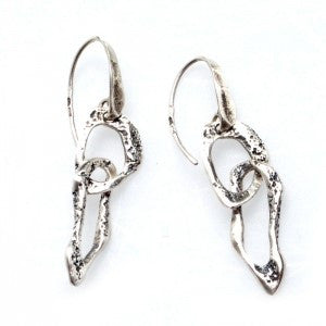 Silver Earrings | M4267 - Artizen Jewelry
