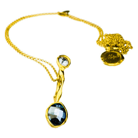 Gold Plated Necklace | M2183 - Artizen Jewelry
