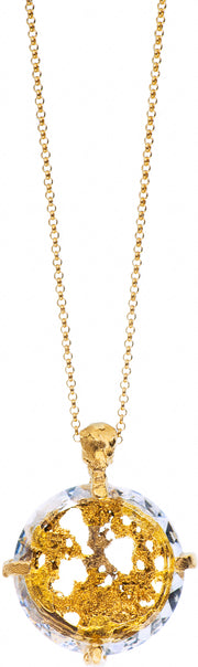 Gold Plated Necklace | MG2534 - Artizen Jewelry