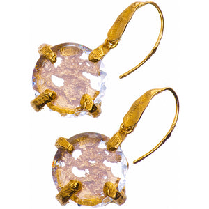 Gold Plated Earrings | MG4534 - Artizen Jewelry