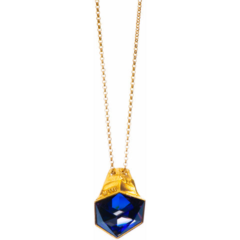 Gold Plated Necklace | MGA2544 - Artizen Jewelry