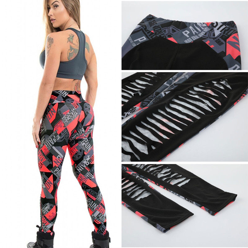 9c18ce4b91a85 No Pain No Gain Ripped Fitness Pants - Free (Limited Time Offer) – Evrymen